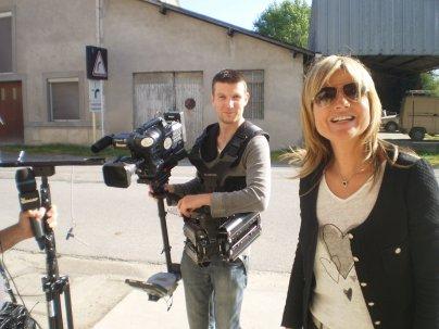 Mirabelle TV de passage à Vertuzey