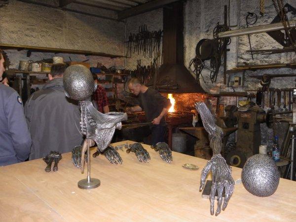 L'atelier de JP Fringant à Euvezin