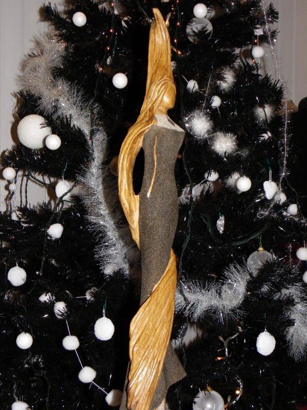 Femme longue chevelure