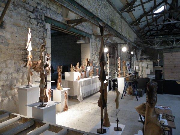 Expo à Euville carriéres du 14/15/09