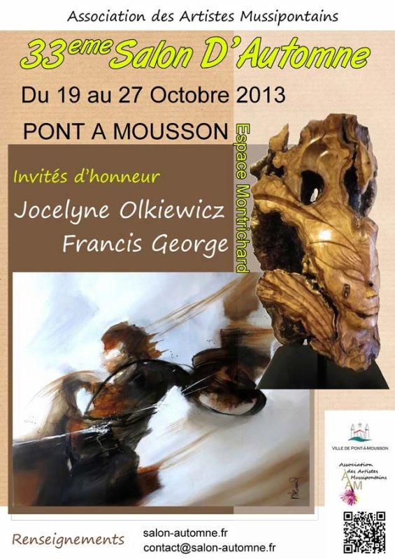 Prochaine expo (invité d'honneur sculpture)