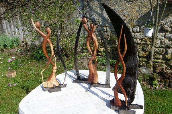 sculptures et tôle
