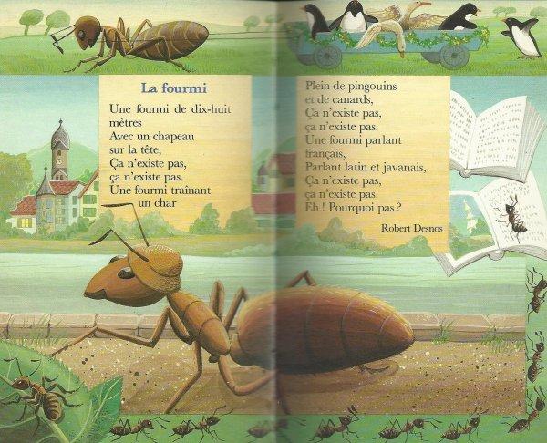 Une fourmi de 18 mètres...