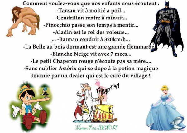 Humour, toujours,