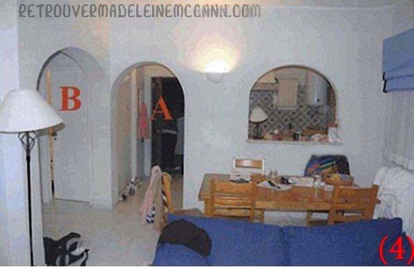 Photos de l'appartement 5A  Lieu supposé de la disparition de Madeleine