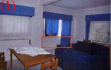 Photos de l'enquête  dans l'appartement 5A