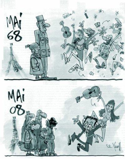 De mai 68 à mai 08...