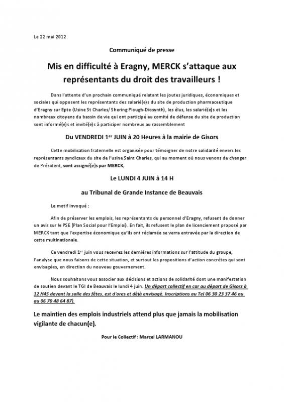 Merck, Eragny-sur-Epte