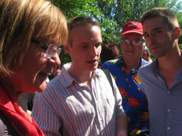 Soutien de Marie-George Buffet, députée du Front de Gauche