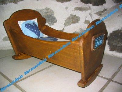 Jouet bois-Collection DREAM Berceau/ABRACADABOIS Jouets et petits mobiliers bois