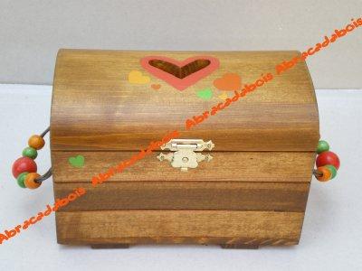 COFFRE tirelire                                                            /                            ABRACADABOIS Jouets en bois