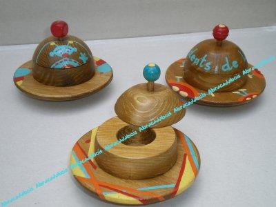 Jouet bois / SOUCOUPE VOLANTE (boite à dents de lait)                               /                        ABRACADABOIS Jouets et petits mobiliers en bois