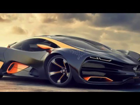 Russian SuperCar - Lada Raven Fire co