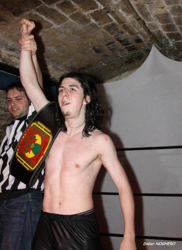 champion lucha libre pour la seconde fois