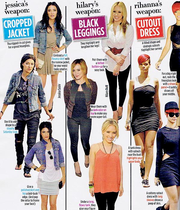 Seventeen Magazine - Octobre / 2010
