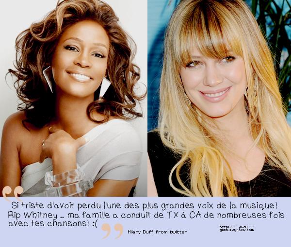 ..RIP Whitney Houston: The Voice ..
