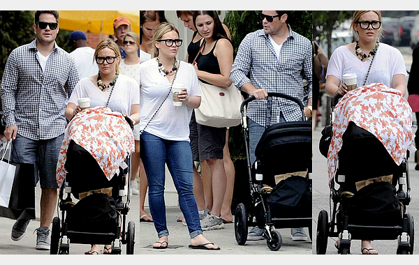 ___l___________________________________________________________________________________________le samedi 14 juillet 2012_Hilary et Mike tout les deux en amoureux allant déjeuner dans New YorkQu'ils sont beau !!! Amoureux et adorable tout les deux!