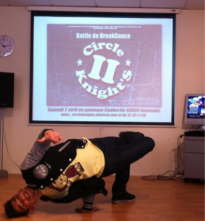Le 2 avril 2011 battle de breakdance a Beauvais