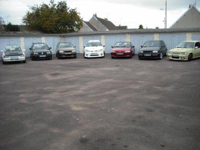 les voiture du club il en manque 4 voiture du club