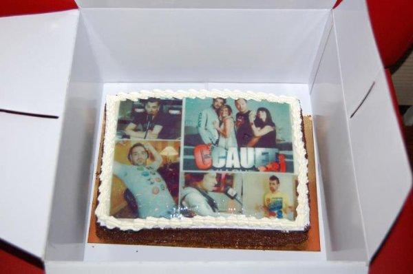 Le gâteau de l'auditrice