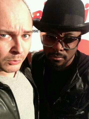 Cauet et Will.I.Am