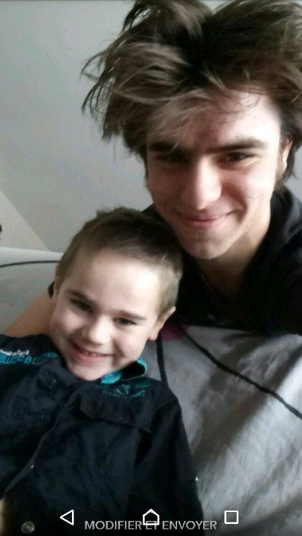 moi ^^ et mon neveu