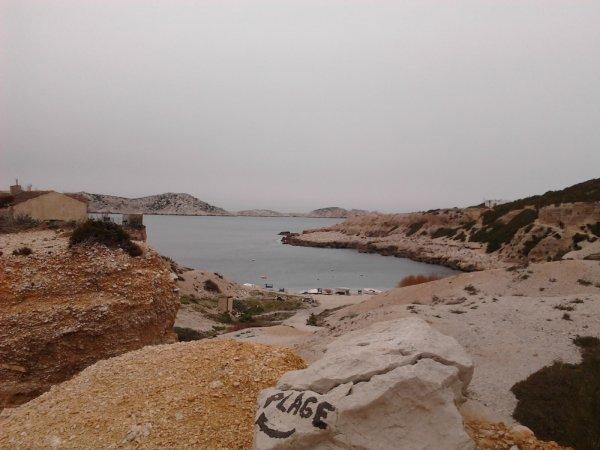Sortie Dans Les Calanques de Marseille.