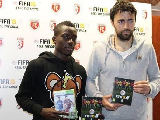 Les lillois reçoivent le FIFA 15 version Lille OSC