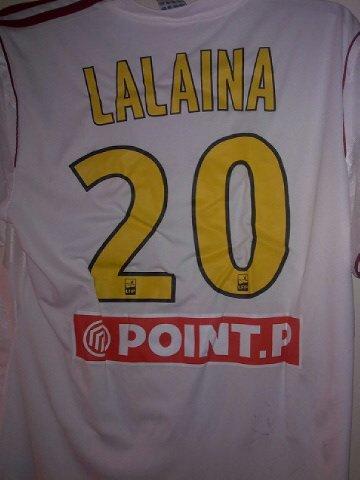 Maillot prepar pour lalaina nomenjanahary coupe de la ligue vendu blog de rc lens 63 - Rc lens coupe de la ligue ...