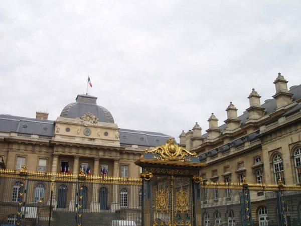 Palais de justice de Paris (pour la série)