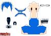 papercraft jellal de fairy tail
