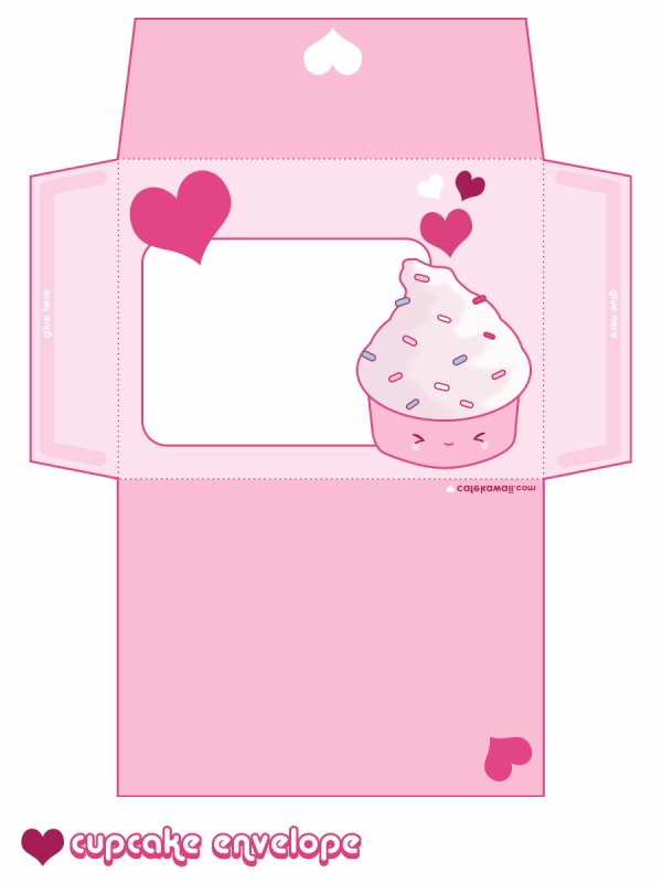 lettre cupcake