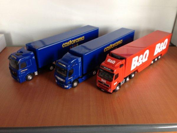 C'est trois camion font parti du groupe anglais Kingfischer