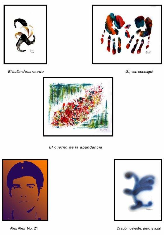 NEWEN : UNA VENTANA SE ABRE PARA MI PINTURA   Por Alejandro Cánovas Pérez