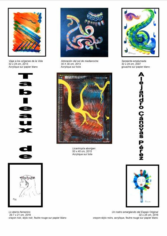 Exposición de mis cuadros entre el 7 y el 18 de marzo del 2017 Por Alejandro Cánovas Pérez