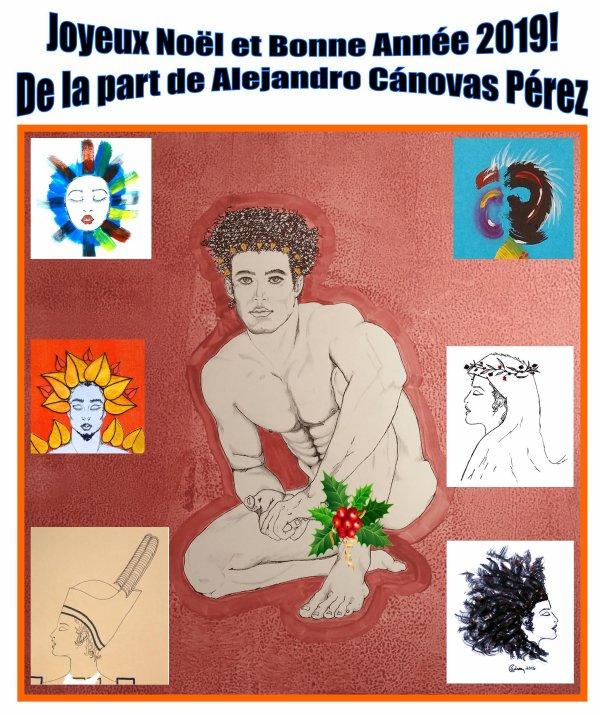 Feliz Navidad y Feliz Año 2019, de parte de Alejandro Cánovas Pérez