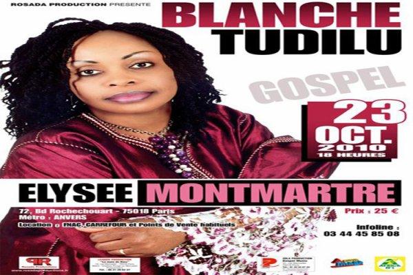 sr blanche tudilu concert le 23 oct 2010