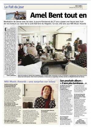 || Interview pour le quotidien Nice Matin ||