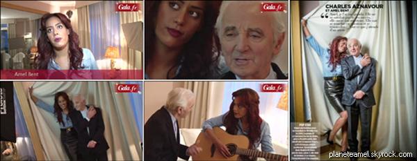 || Shooting photo avec Mr Aznavour pour les 20 ans GALA ||