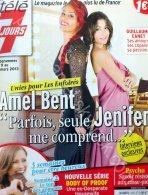 || Amel et Jenifer en couv' du prochain .Télé7Jours. ||