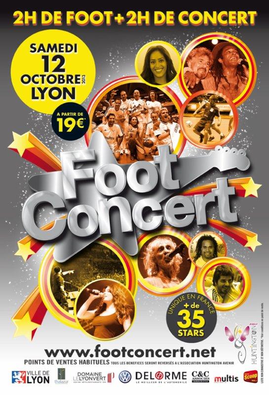 || Foot Concert 2013 : l'affiche officielle ! ||