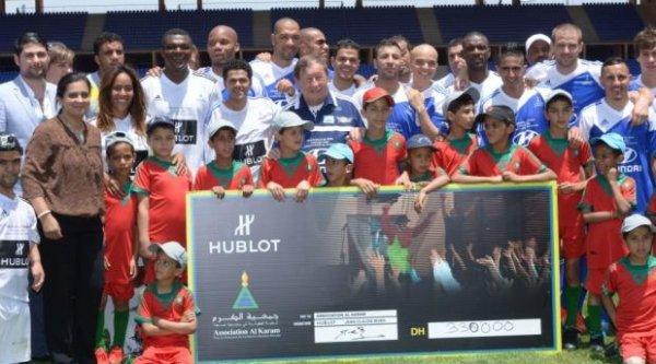 [ Marrakech du Rire - Tournoi de foot pour l'association Al Karam (07.06.13) ]