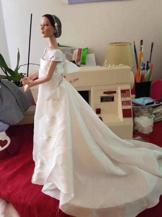 Joséphine de Beauharnais, costume d'apparat