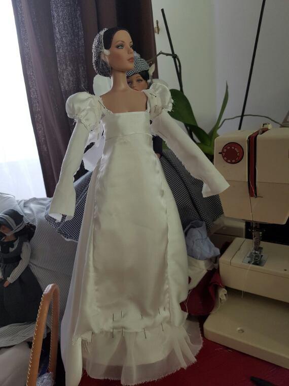 Joséphine et sa robe d'apparat