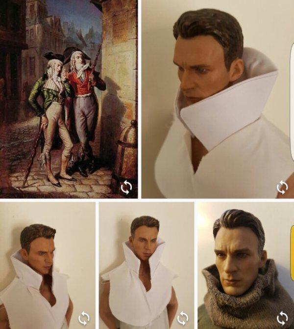 Costumes excentriques pour nos gentlemen