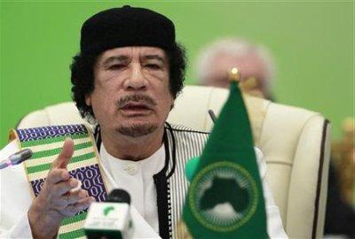 Kadhafi devait recevoir le Prix des droits de l'ONU