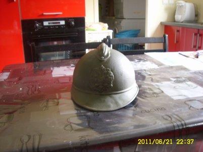 Réplique  du casque adrian 1915 Russe