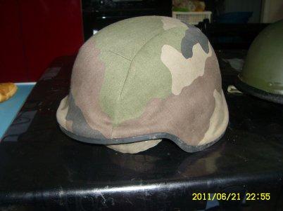 Le casque Spectra de l'armée française