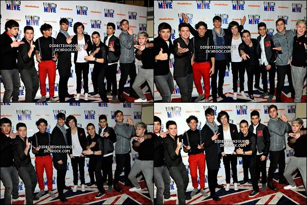 """.    09/03/12 : Les garçons se sont rendu à l'avant  première de Nickelodeon du film """" Big Time """"   ."""