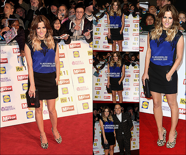 29/10/2012 || Caroline F. sur la Red Carpet de Pride of Britain Awards à Londres. Caroline Flack est sublime, toujours souriante et j'aime beaucoup sa tenue. Et toi tu en pense quoi? TOP ou FLOP?.